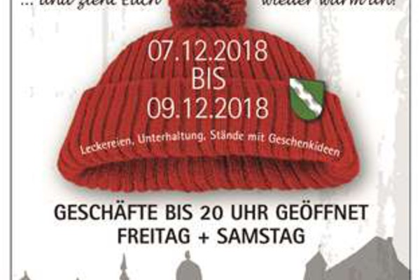 Winterfest in Bad Grönenbach vom 07.-09.12.2018
